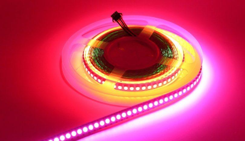 LED Strip kan skapa häftiga effekter eller göra hemmet extra mysigt