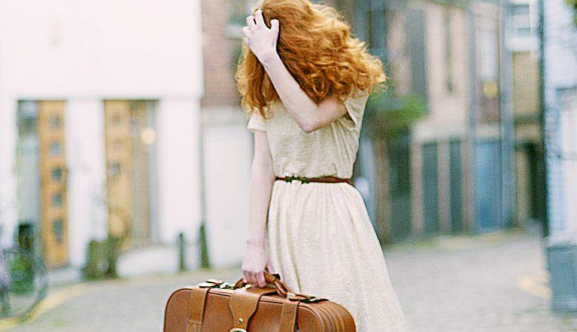 Med läder i bagaget